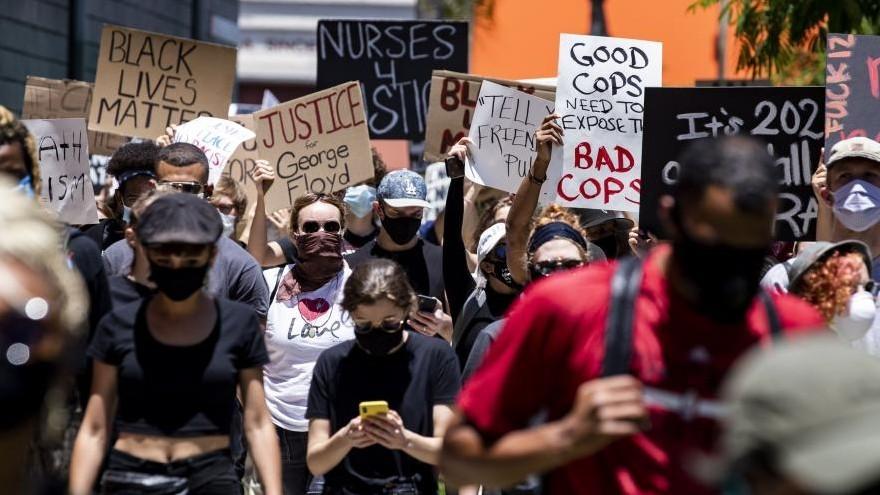 Protestas por el asesinato de George Floyd